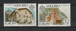 EUROPA-CEPT Andorra (Spanyol posta) 1978 postatisztán (Kat.: 2 Euro) (170)