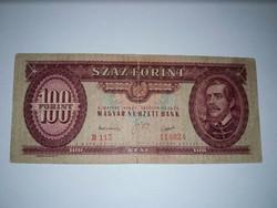100 Forint, Rákosi cimeres  Ritkább , bankjegy !!