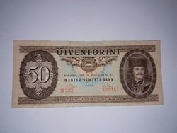 50 Forint 1969-es Nagyon szép ropogós bankjegy,Ritka !