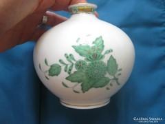 Herendi porcelán Apponyi mintás hasas váza
