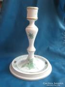 Nagyméretű Apponyi mintás herendi porcelán gyertyatartó