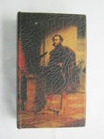 Könyv alakú díszdoboz doboz történelmi témájú Széchenyi
