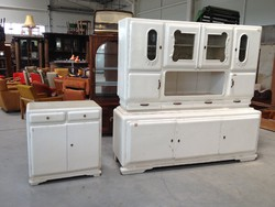 Art deco vitrines konyhaszekrény konyhabútor tálaló szekrény