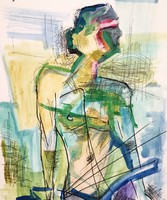 Modern Nude art D. Szabó