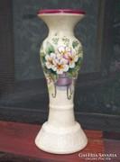 Toszkán posztamens gyertyatartó, 24 cm, Ajándékozható