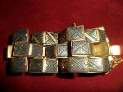 Aranyozott toledói karkötő