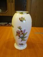 Herendi Viktória mintás porcelán váza VBO