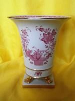 """Herendi """"Indiai kosár mintás """" körmös váza"""