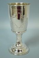 Keresztelő pohár ,kupa, kehely ezüst