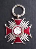 Lengyel Ezüst Érdemkereszt 1923-1939