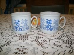 Retro Zsolnay teás csésze - két darab