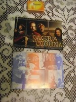 Retro film reklám képeslap - két darab