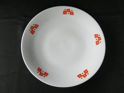 Zsolnay porcelán art deco tányér