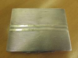 Olcsó ezüst szelence, cigaretta tárca 830-as finomság.