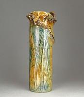 0N991 Jakab Bori művészi kerámia váza 23 cm