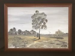 Németh Zoltán festmény
