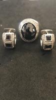 Ezüst gyűrű+ Füli