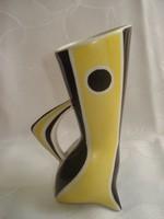Zsolnay porcelán Török János váza(hajszálrepedt)