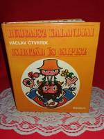 A 70 - es évek rajzfilm kedvence RUMCÁJSZ kalandjai illusztrált mese könyvben RITKA