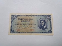 Egymillió Pengő 1945-ös   bankjegy!