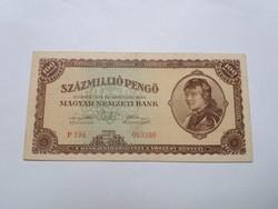 Százmillió  Pengő 1946-os   bankjegy!