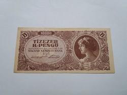 Tizezer B.-Pengő 1946-os Hajtatlan bankjegy !!!