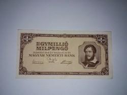 Egymillió Milpengő,1946-os hajtatlan A-UNC bankjegy !