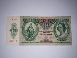 10 Pengő 1936-os szép ropogós   bankjegy!