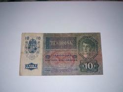 10 korona 1915 -ös  bankjegy!
