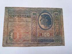 100 korona 1912 -es  bankjegy!