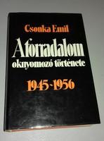 EMIGRÁNS HUNGARISTA ANTIBOLSEVISTA KÖNYV! CSONKA EMIL: A FORRADALOM