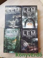 Stanislaw Lem teljes science-fiction univerzuma I-IV.