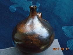 Német kerámia művész műlyejéből- Margarete Weber-Jünkert Tübingen-kis stúdió váza