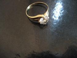 Arany gyűrű 14 K