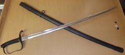 Horthy 1861M gyalogtiszti kard széles hosszú pengés