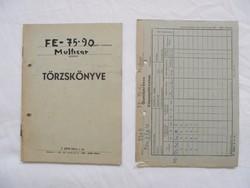 Tehergépkocsi törzskönyv, köpenytörzslap - 1968-as Multicar M22