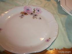 Zsolnay kínálos tányér