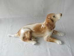 Gránit kerámia kutya 34 cm