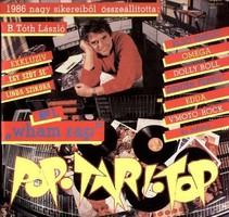 Pop Tari Top 1986 bakelit lemez