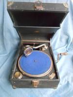 Odeon gramofon 1920-as évek.Működik.