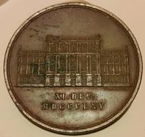 Carl Radnitzky:A Magyar Tudományos Akadémia házának megnyitásának 40.évfordulójára 1865.dec.11.