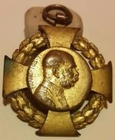 Ferenc József, Rudolf F.Marschall:Jubiläums Kreuz 1848-1908  trónra lépésének 60. évfordulójára