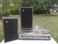 Retro lemez és kazettás Philips Hifi eladó