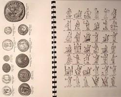 Római pénzek beazonosításához füzet , 24 oldal  A4 méret