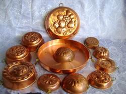 12 db-os sütőforma és kínáló gyűjtemény