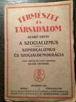 Szabó Ervin: A szocializmus / 1919