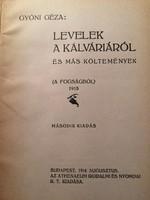 Gyóni Géza: Levelek a Kálváriáról /1916 A fogságból
