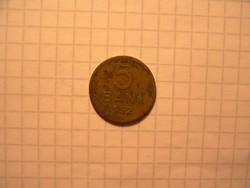 Román 5 Bani váltópénz 1952 !!