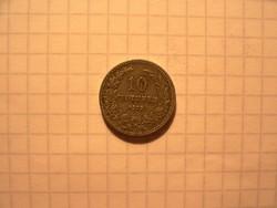 Bolgár 10 Stotinki 1912 !!