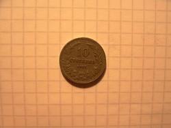 Szép Bolgár 10 Stotinki 1913 !!